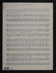 The Alpha Chi Omega Waltz Sheet Music