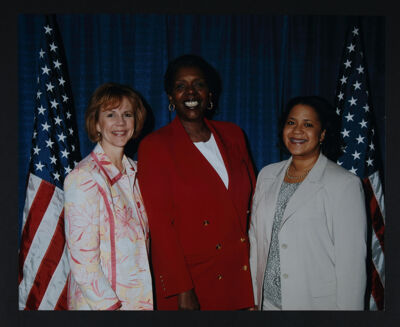 Burkhard, Jones and Willoughby in D.C. Photograph, April 2005