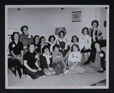 Beta Rho New Members Photograph, 1959-60