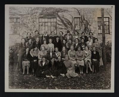 Gamma Chapter Photograph, 1935