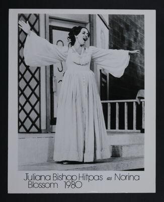 Juliana Hitpas as Norina Photograph, 1980