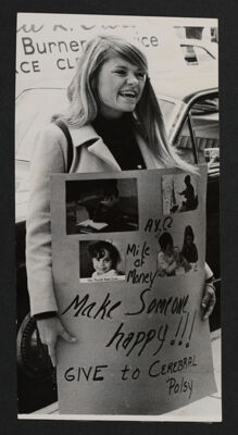 Joan Albert with Cerebral Palsy Poster Photograph, c. 1970
