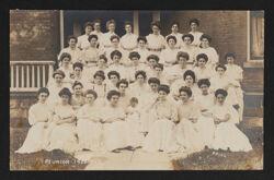 Beta Chapter Reunion Postcard, 1908