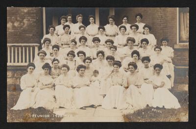 Beta Chapter Reunion Postcard, 1908