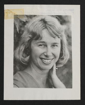 Georgie Geyer Portrait Photograph, c. 1968
