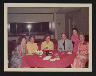 Group of Six at Training Leadership Conference Photograph, July 27, 1973