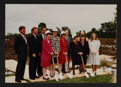 Castle Creek Parkway Headquarters Groundbreaking Ceremony Photograph, c. 1992