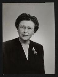 Mildred Scott Portrait Photograph, c. 1949-53
