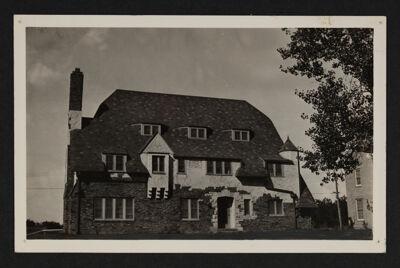 Alpha Pi Chapter House Postcard
