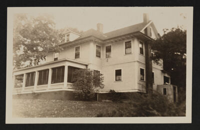 Alpha Theta Chapter House Side View Photograph