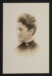 Estelle Leonard Portrait Photograph, c. 1886