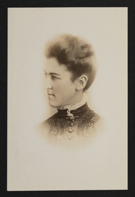 Estelle Leonard Portrait Photograph, c. 1886