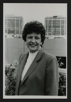 Martha Hannegan Portrait Photograph, 1985
