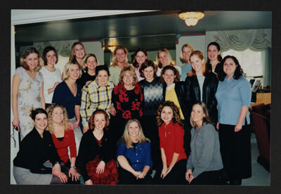 Jan Crandall and Beta Xi Chapter Photograph, 1996-2000