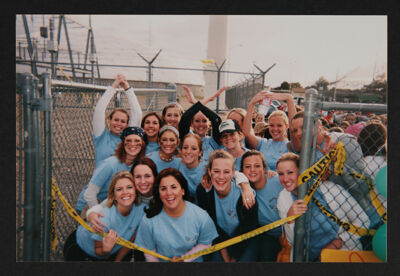 Gamma Rho Chapter Members Outside Power Station Photograph, c. 2004