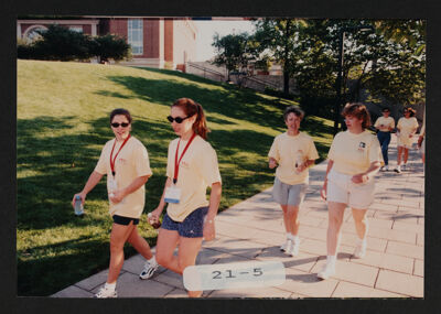 Convention Walk-a-Thon Photograph, 2000