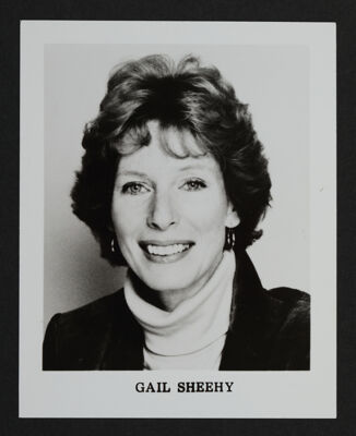 Gail Sheehy Portrait Photograph