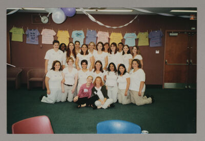 Iota Rho Chapter Members at Philanthropy Party, c. 2002-05