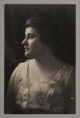 Martha Baird Portrait Photograph, c. 1916