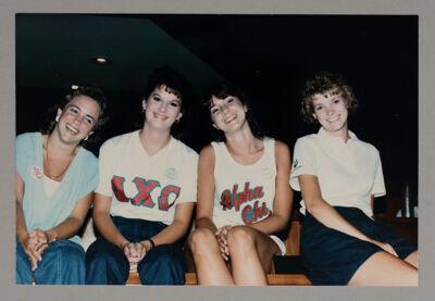 Collegians at Training Leadership Seminar Photograph, July 1986
