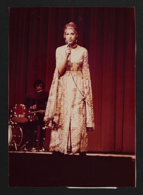 Carla Oleck Singing Photograph, c. 1976