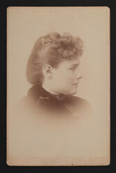 Anna Allen Smith Portrait Cabinet Card