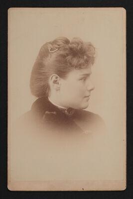 Anna Allen Smith Portrait Cabinet Card
