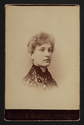 Nellie Gamble Childe Portrait Cabinet Card, c. 1886