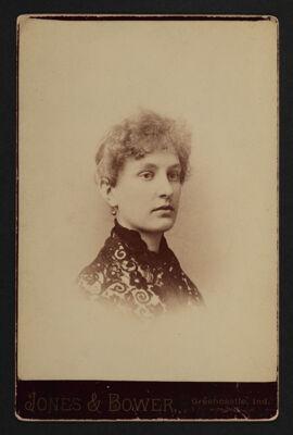 Nellie Gamble Childe Portrait Cabinet Card, c. 1886