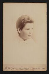 Olive Burnett Clark Portrait Cabinet Card