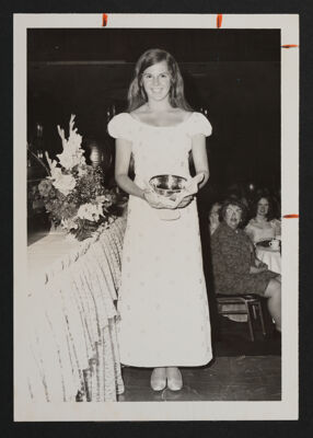 Pledge Award Winner at Convention Photograph, 1972