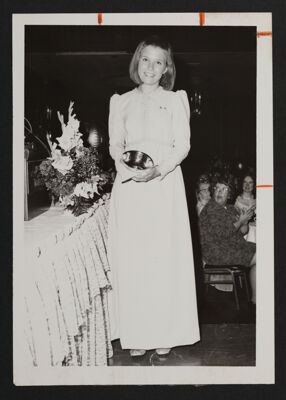 Most Improved Scholarship Award Winner at Convention Photograph, 1972