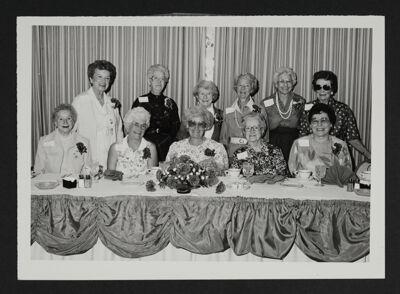 Epsilon Psi Epsilon 50-Year Members Photograph, August 23, 1989