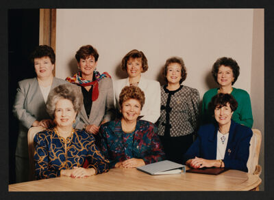 National Council Photograph, 1990-92