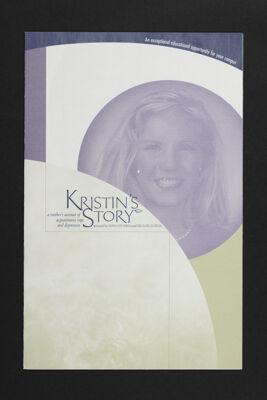 Kristin's Story Pamphlet, c. 2001