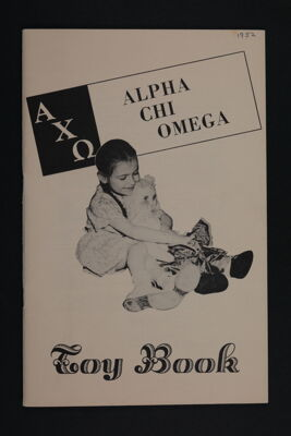Alpha Chi Omega Toy Book, 1952