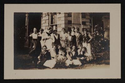 Alpha Eta Chapter Members Outside Photograph