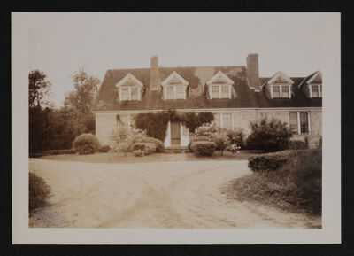 MacDowell Colony Residence Hall Photograph, 1947