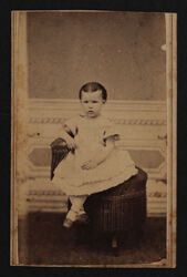 Olive Clark as a Child Photograph, c. 1870