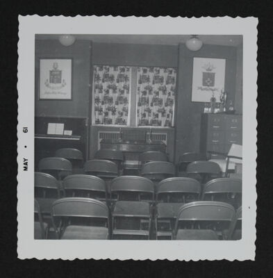 Delta Epsilon Chapter Room, 1961