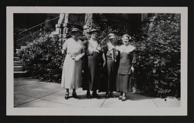 Leonard, Childe, Clark and Orndorff at Convention Photograph, June 26, 1935