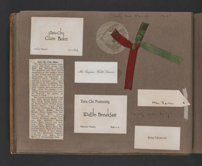 Alvena Smith Scrapbook, Page 18