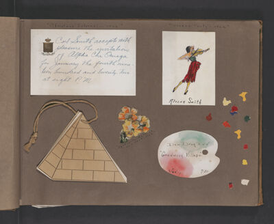 Alvena Smith Scrapbook, Page 23
