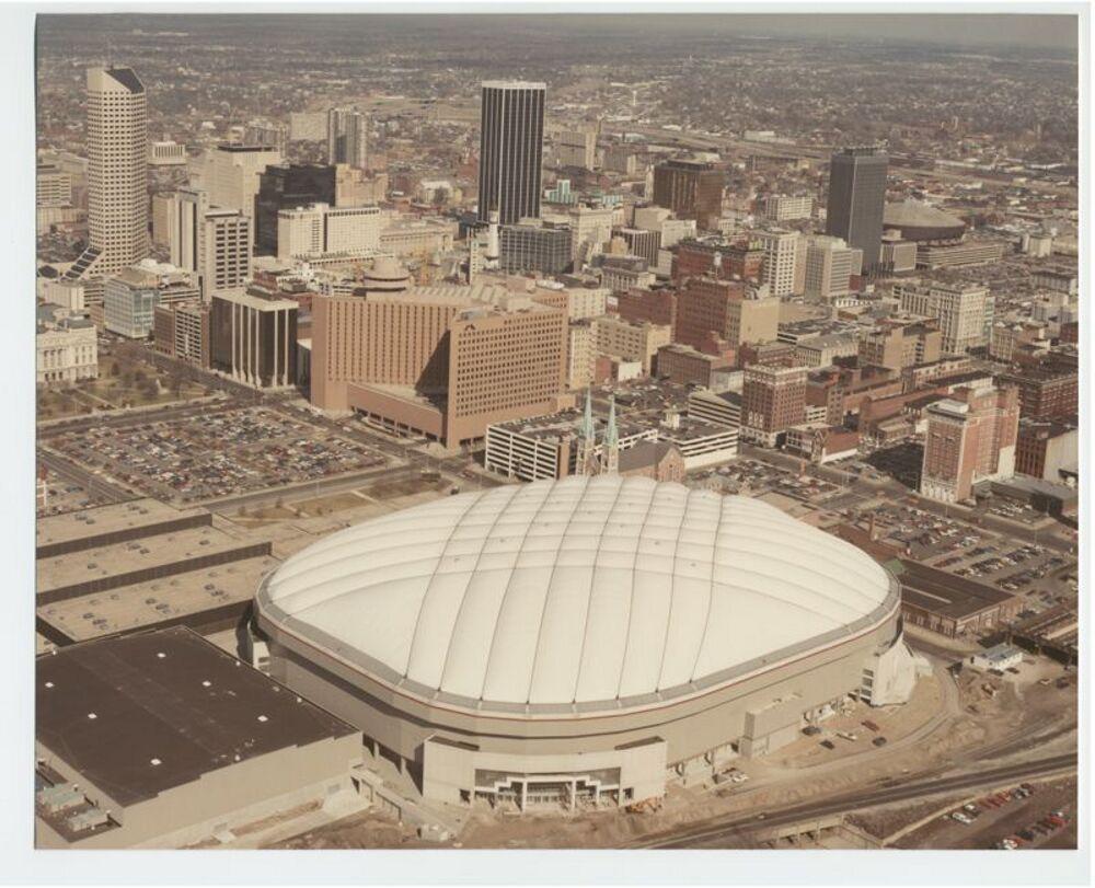 Hoosier Dome, Aerial View, n.d.