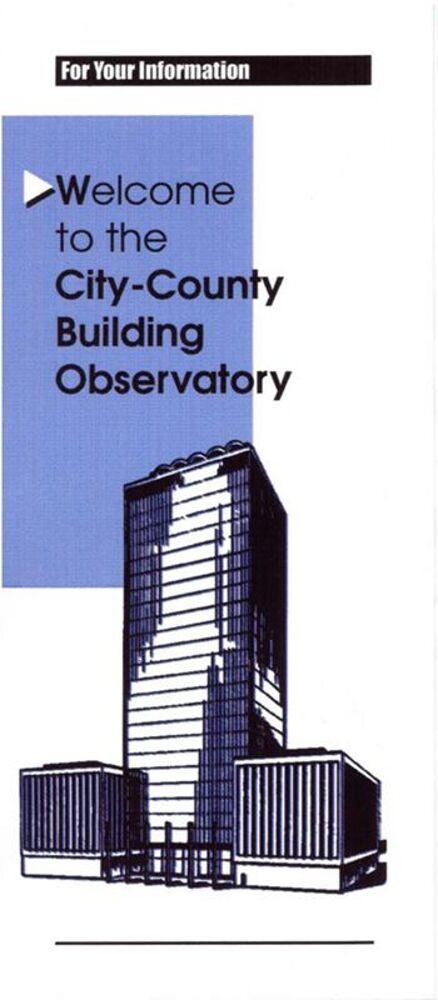 Indianapolis City-County Building, 1962