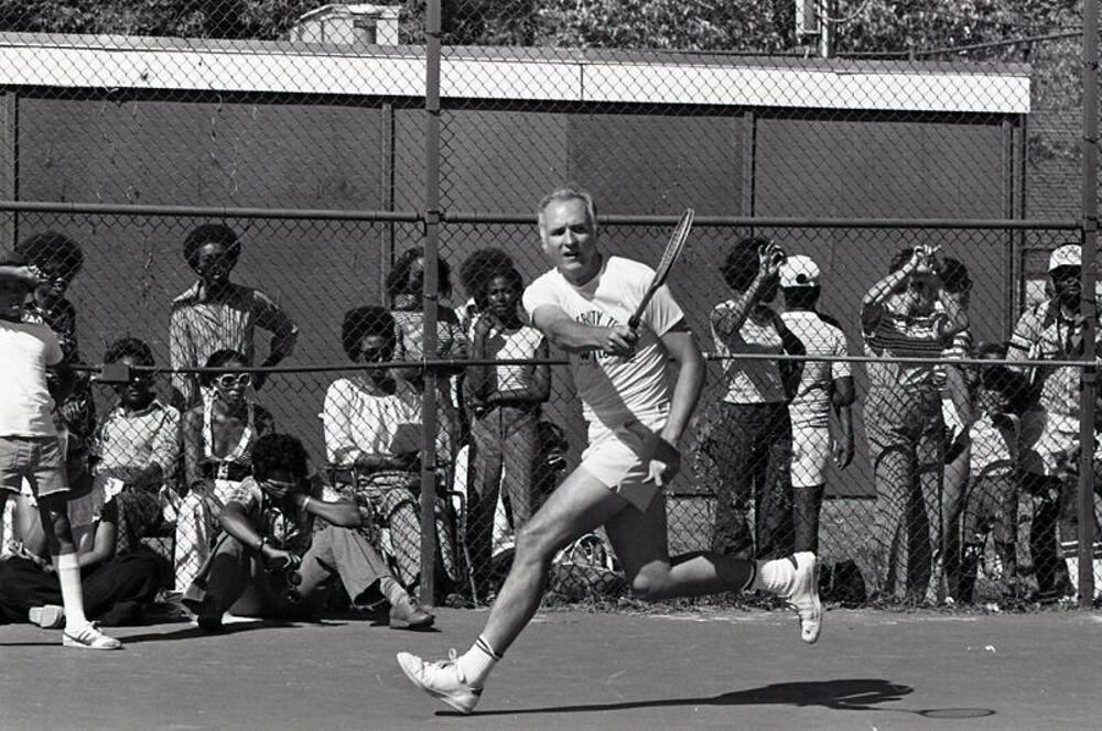 Mayor's Celebrity Tennis Day, 1977