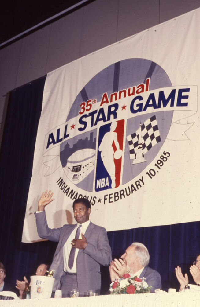 All-Star Basketball in the Hoosier Capitol, 1984