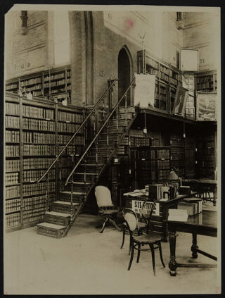Old Columbia College Law Library Stack Room Photograph
