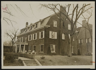 Zeta Chapter House Photograph, 1946