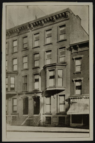 343 Madison Ave Brownstone Photograph